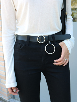 O ring belt ; 2 color   BEST ♥