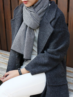 Herringbone muffler ; 2 color     남여공용 !
