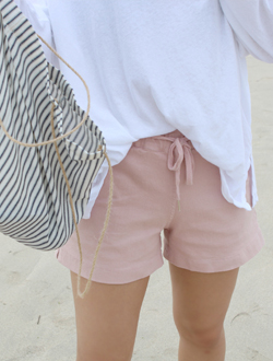 Slit short pants ; 7 color BEST ♥