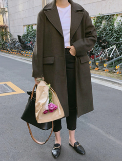 Wool single coat ; 2 color